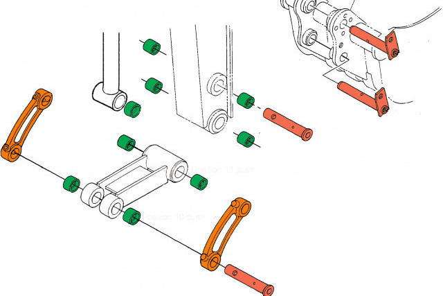 Excavator Links - What's the difference between them all?