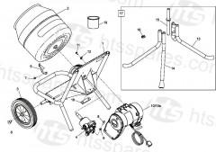 Minimix 150 Frame Assembly