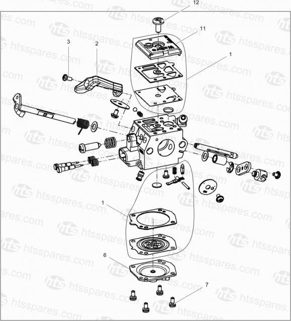 Wacker Neuson BH55 Carburettor Screw