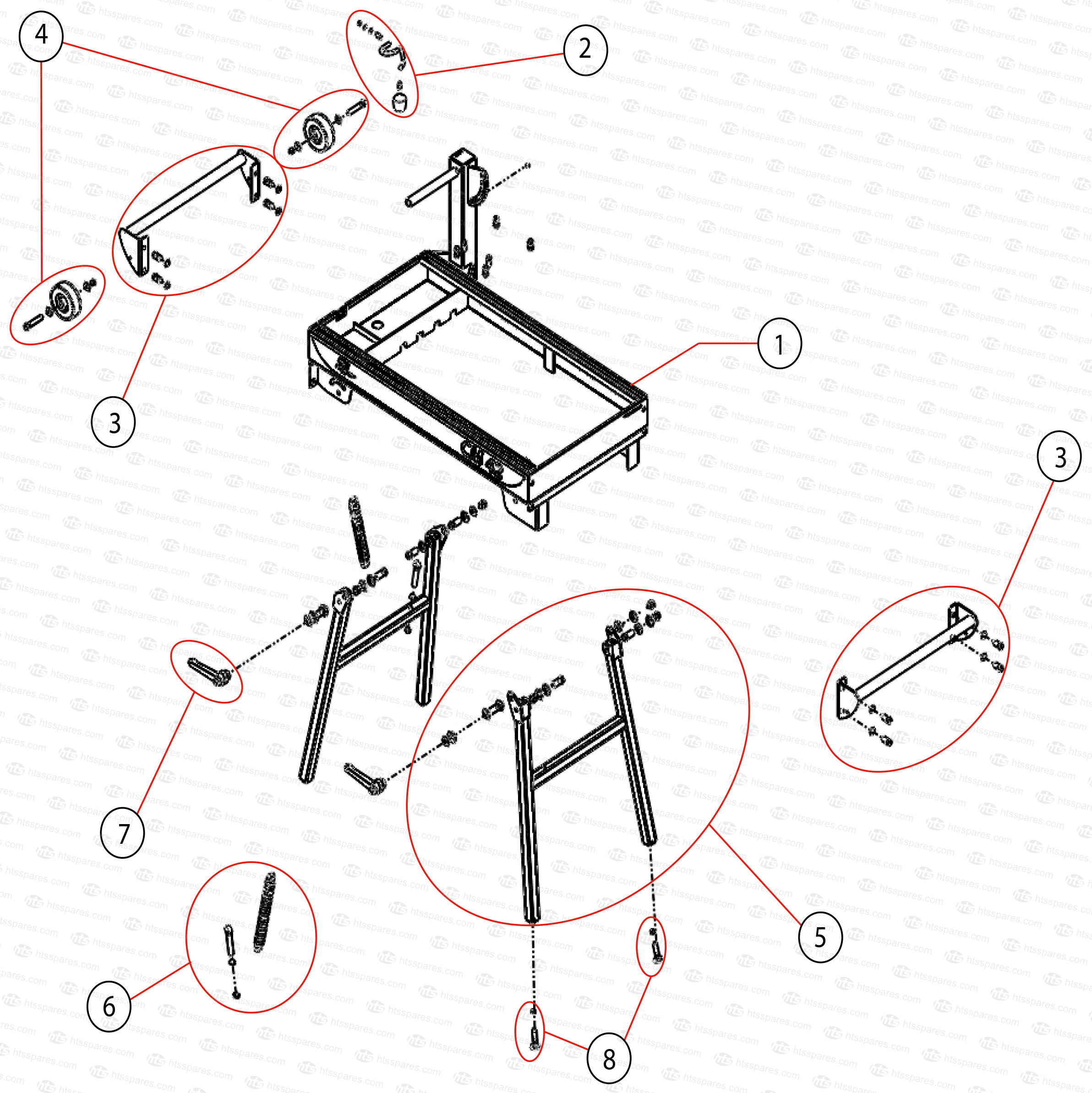 clipper cm42 main frame parts norton clipper cm42 tablesaw parts rh htsspares com