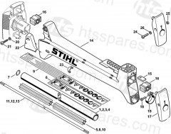 Stihl FS400, FS450 Brushcutter Parts