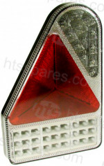 Left Hand LED 10-30V Vertical Combi Lamp (HEL0911)