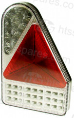 Right Hand LED 10-30V Vertical Combi Lamp (HEL0912)