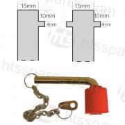 Double Isolator Pins