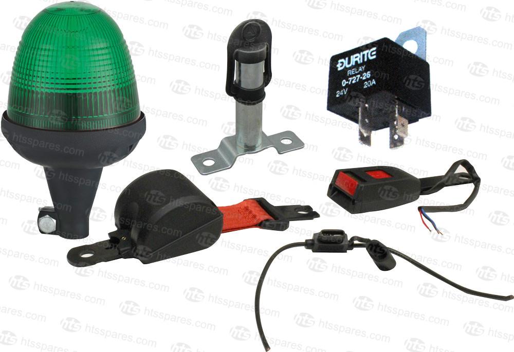 safety warning belt kit with green beacon \u0026 switched lap belt Naza Wiring Diagram green led beacon seat belt kit flex beacon \u0026 surface mount spigot (hel1192)