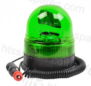 Green Magnetic Rotating Beacon (HEL1634)
