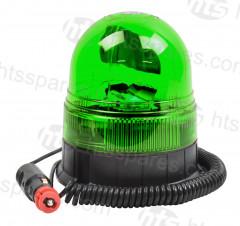 Green Magnetic Rotating Beacon (HEL1634)