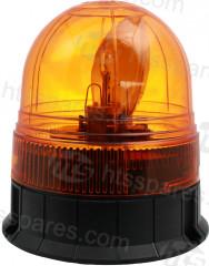 Amber 1 Bolt Rotating Beacon (HEL1636)