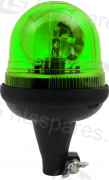 Green Spigot Rotating Beacon (HEL1668)