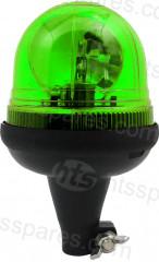 Green Spigot Rotating Beacon (HEL1668)