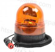 Amber Magnetic Rotating Beacon (HEL1670)