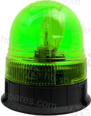 Green 1 Bolt Rotating Beacon (HEL1671)