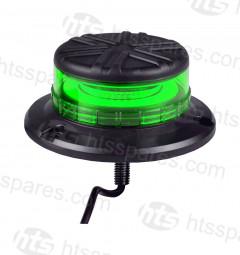 Micro LED Green Beacon - Single Bolt (HEL1886)