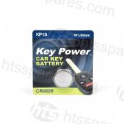 Lithium Coin Bat 3V Cr2025 5Pk (HEL2391)