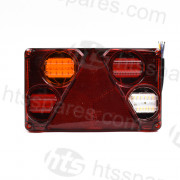 LED Rear Combination Lamp L/H (HEL2698)