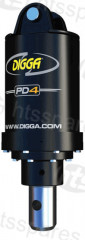 Auger Drive Unit PD4 - 65mm Round Shaft (HEX0491)