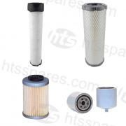 JCB 3 Tonne Dumper Filter Kit - 500Hr (1 X Fuel, 2 X Air, 1 X Oil) (HFK0130)