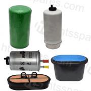 JCB 540/170 Filter Kit - 500Hr (1 X Oil, 2 X Fuel, 2 X Air) (HFK0337)