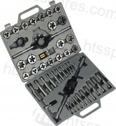 TAP AND DIE SET 45 PIECE (HHP0095)