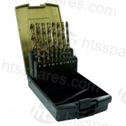 19pc HSS Cobalt Twist Drill Set