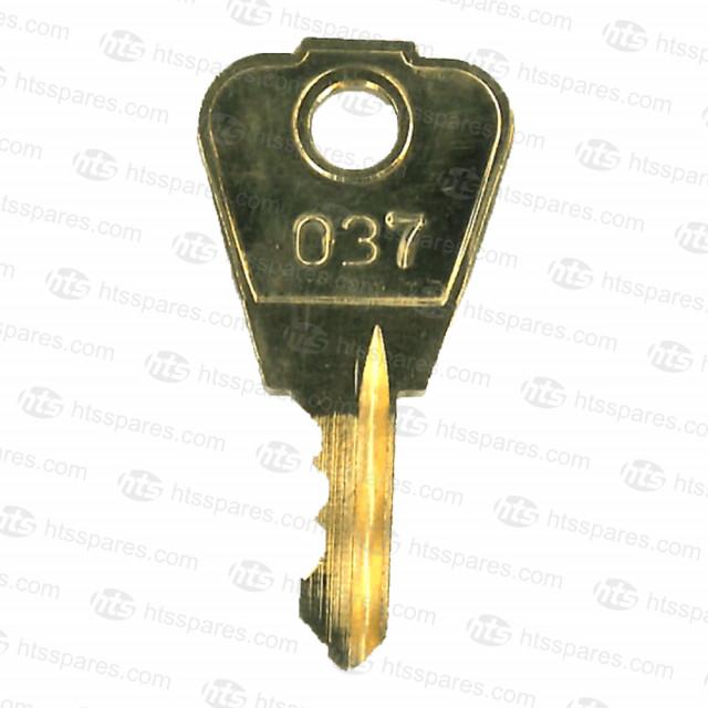 037 Merlo Telehandler Boom Lock Out Key (HKY0165)