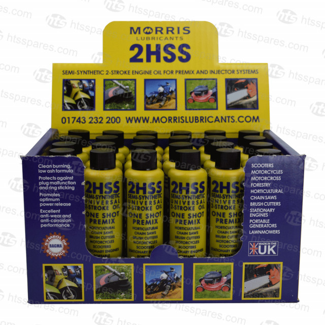 2 Stroke Oil Semi Synthetic Morris Groundforce