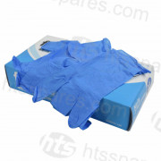 Blue Nitrile Gloves Size L (100pk)