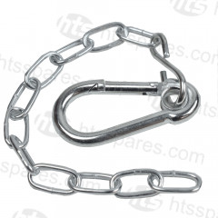 "Safety Clip & Chain 3"" Clip (HTL0424)"