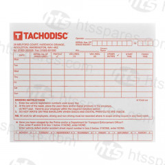 Tacho Disc Weekly Envelopes (Pack Of 100) (HTL0428)