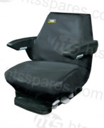 Plant Seat Cover black