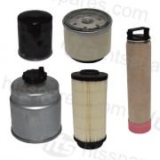 Hd8/10 VV Filter Kit - 500Hr (1 X Oil, 2 X Fuel, 2 X Air)