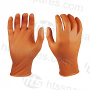 Orange Grippaz Nitrile Gloves Size XL Pk 50 (HSP1172)