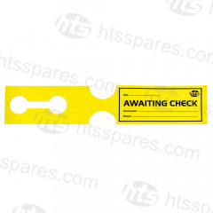 Plant Tag Hire Labels - Yellow (HSP1114)