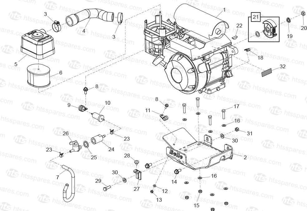 Honda Gx120 Engine Diagram