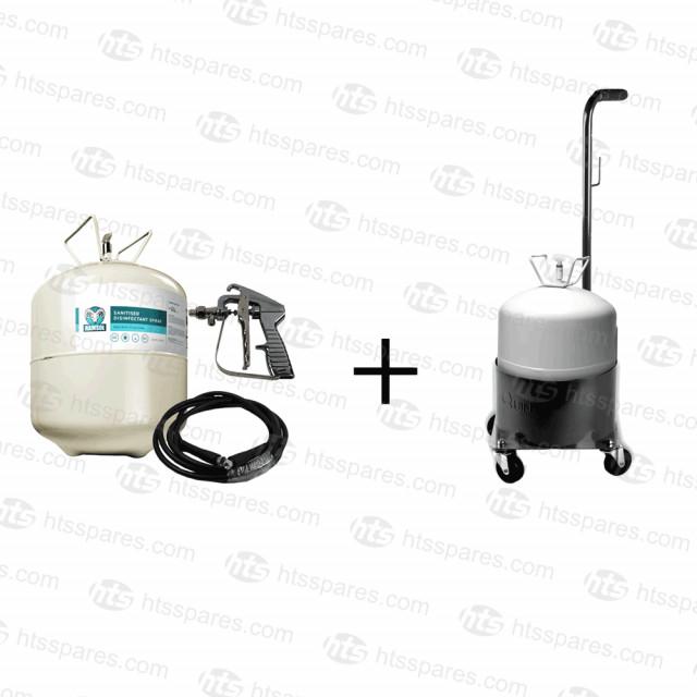 Ramsol Sanitising Kit & Trolley (SP000582)