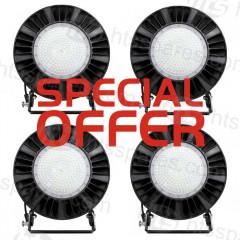 4 X SUPERBRIGHT VB9/VT1 LED HEAD & BRACKET KITS (SP000447)