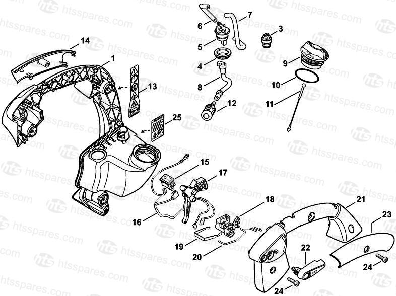 Genuine Stihl BG86 C Leaf Blower Detent Spring 4241 182 4204 Spares Parts
