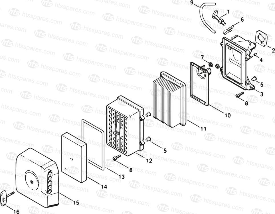 Stihl Ts400 Air Filter Housing Parts