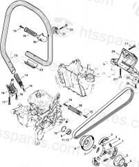 Stihl TS500i Disc Cutters Parts