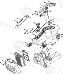 Stihl TS480i, TS500i Parts