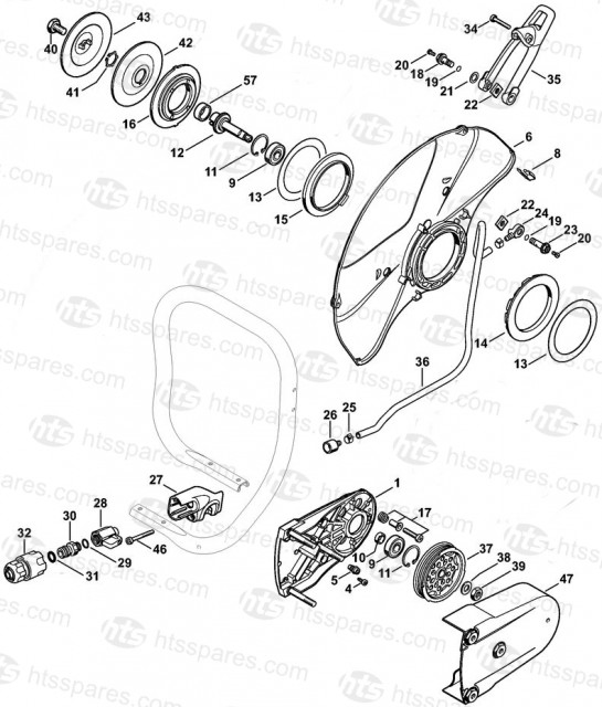 Stihl ts800 parts manual