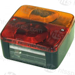 4 FUNCTION SQUARE REAR LAMP