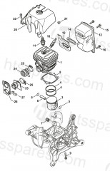 Stihl TS410, TS420 Parts