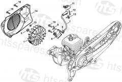 Stihl    TS410  TS420    Parts
