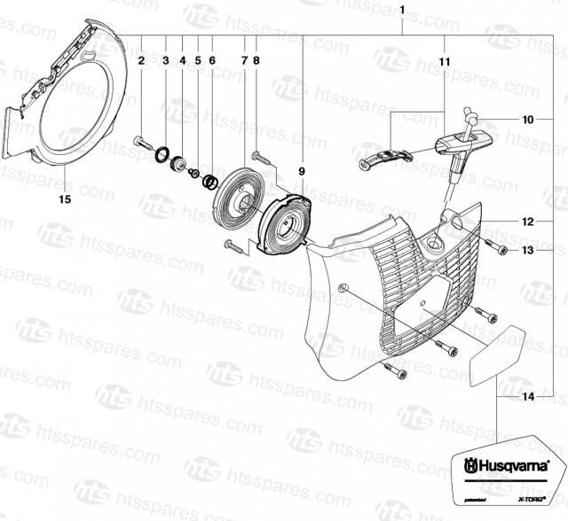 K760 Recoil Starter 2013>