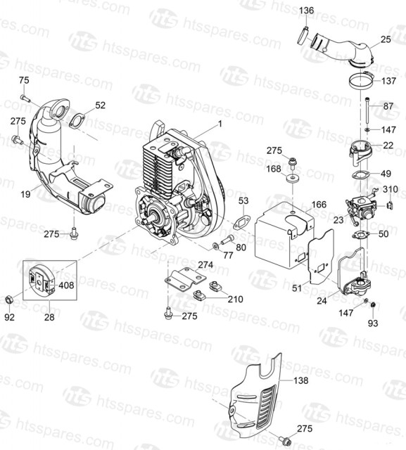 Wacker BS60 2 Engine Components Spring