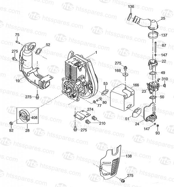 Wacker BS60 2 Engine Components Gasket