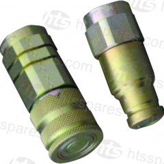 "JCB STYLE FLAT FACE 1/2"" & 3/4""- SAE SERIES COUPLING"