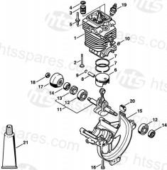 Stihl FS130 Brushcutter Parts