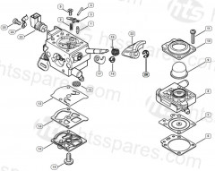 Stihl FS460C-EM clearing saw Parts